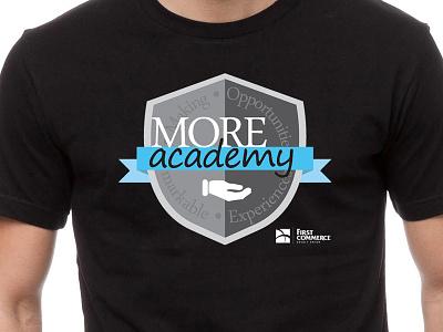 More Academy shirt fccu logo