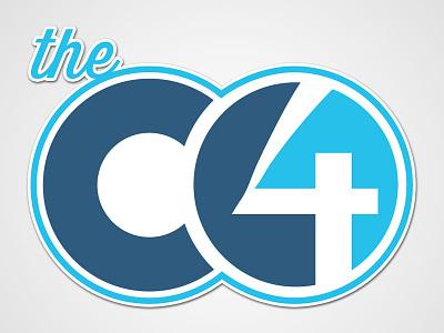 The C4 Logo Concept illustrator logo