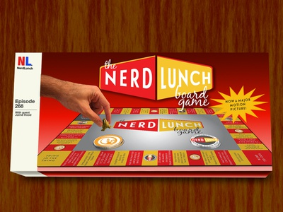 Nerd Lunch Board Game nerd lunch illustrator photoshop