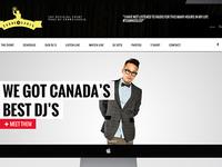 24 Djs Website Design