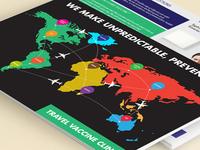 Travel Vaccine Flyer
