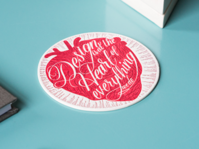 Shopify coaster design for An Event Apart