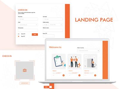 Sign IN page ux webdesign web ui  ux responsive design design mock-up