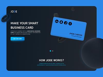 Jode webdesign ui  ux responsive design uidesign mock-up