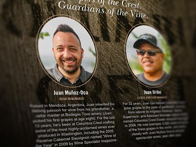Juan & Juan interactive web landing page advertising