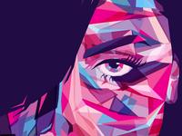 Aaliyah Close-up