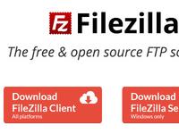 FileZilla Homepage