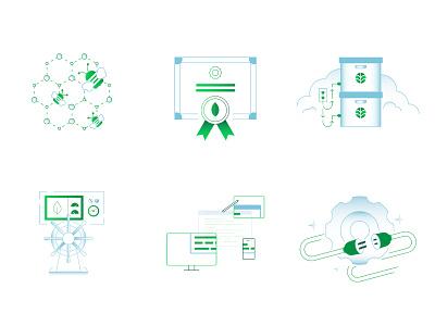 Keynote Illustrations certificate cluster cloud data database mongodb