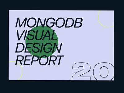 MongoDB Visual design team re-cap! retro redesign infographic visual recap illustration mongodb