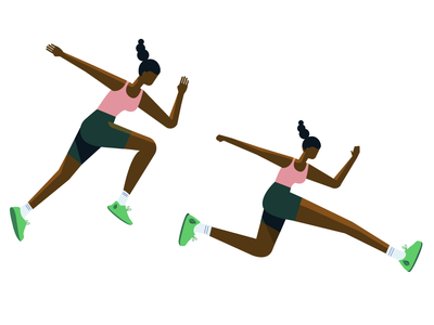 Ready, set, go! excercise wip study runner illustration mongodb