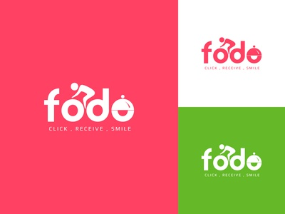 fodo food logo design