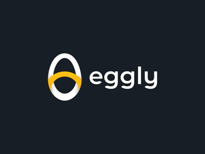 Eggly Food Brand Logo Design delivery app abstract food logo food app egg logo simple logo app icon mark modern logo creative logo ui design illustration icon logotype brand branding minimalist logo design logo