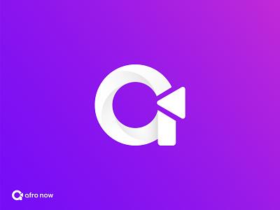 A Letter App Icon letter logo a logo abstract play logo gradient logo simple logo media app app icon creative logo modern logo ui illustration design brand icon logotype minimalist branding logo logo design