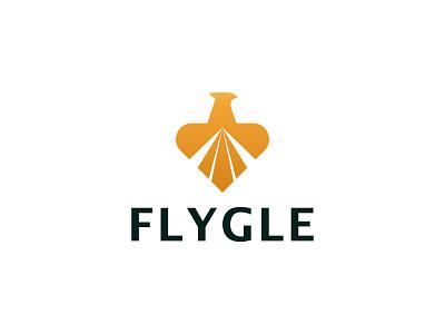 Eagle Logo design concept 3d vector simple logo unique logo abstract air logo fly logo bird falcon eagle creative logo modern illustration icon brand minimalist logotype logo branding logo design