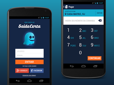 Saída Certa for Android holo actionbar roboto android design androidui androidux