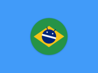 Android Dev BR - Magnet Sticker