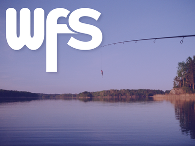 Day 11: The Fishing Logo 30 days of logos typography bauhaus proximanova descender fishing s w f symbols logo