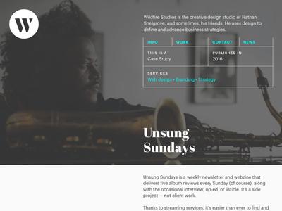 Tweaked Portfolio Design portfolio website table grids web design grid portfolio