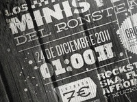 Los Ministers - Poster detail