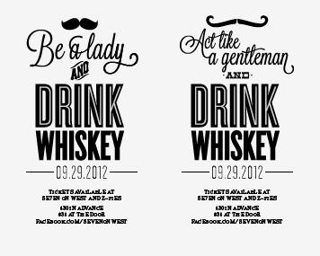 Whiskey Social Posters  reno