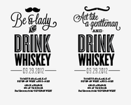 Whiskey Social Posters