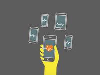 mobile health checker WIP