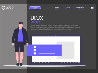 UI Desktop Dark