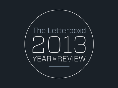 2013 Year in Review letterboxd typography logo forza vitesse circles grey