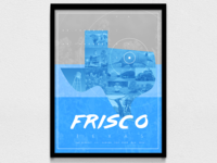 Frisco Travel Poster