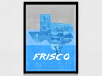 Frisco Travel Poster