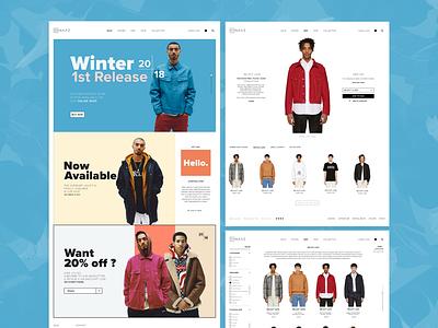 Naaz    Webpage uiux website web uidesign mobile ui ui flat design app adobe xd