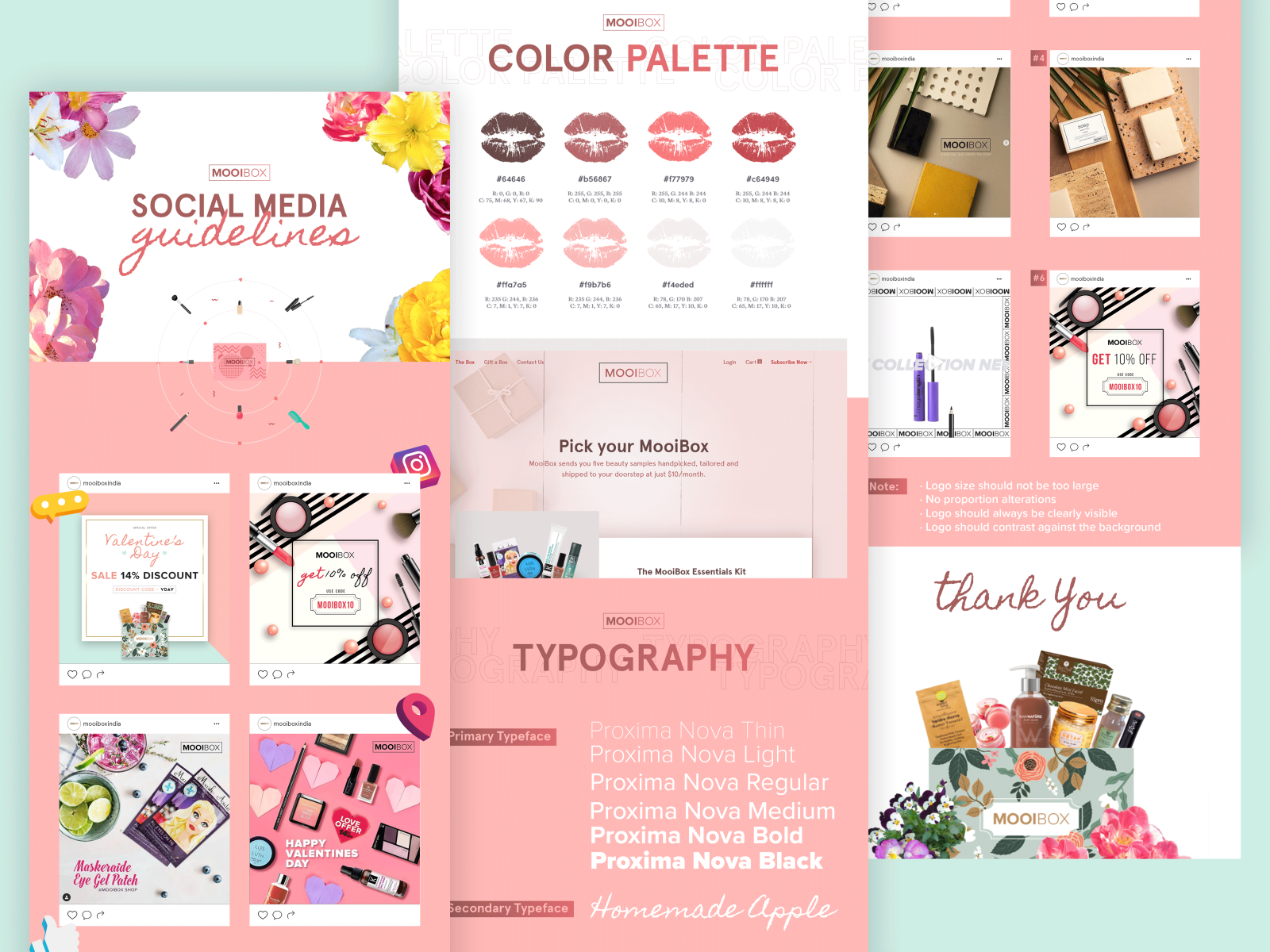 Social Media Guidelines Mooibox By Zickr On Dribbble
