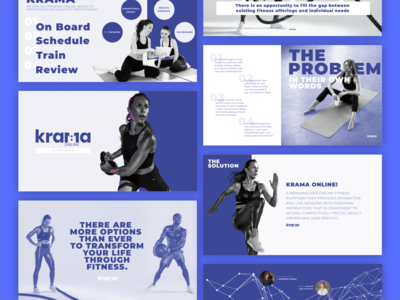 Pitch Deck Design || Krama branding design adobe xd illustrator photoshop pitchdeck
