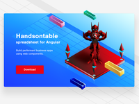 Ladning Page for Handsontable Angular