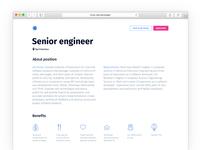 Job Description Concept