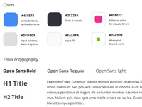 Styleguide Preview