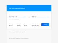 Send Money flow