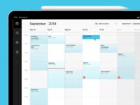 Calendar - New Booking