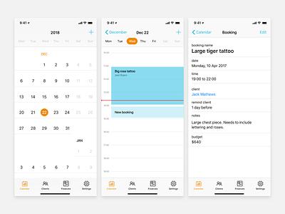 Calendar - Mobile