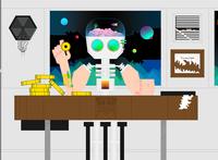 Get Me Out robotics robot spaceman space art vector illustration adobe illustrator adobe