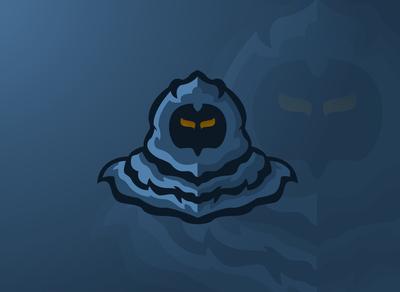 The shadow Gamer E-Sports Logo.masscot logo