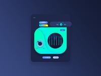 Music UI Concept Equalizer