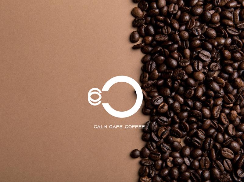 Calm Cafe Coffee illustration vector uiux logodesign logotype mockup abstract art animation coffine coffee cup brand identity graphicdesign adobe illustrator adobe photoshop