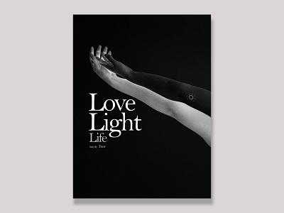 LLL Book Cover Design lovecraft blessings hand togetherness black design graphic design uiux adobe illustrator adobe photoshop feor life light love books cover design