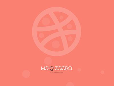 Mo Q Zaara Brand Identity webdesign vector illustration color code color palette salmon zaara dribbble brand identity brand design branding logo photoshop adobe illustrator