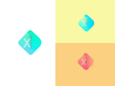 XZAX logo design