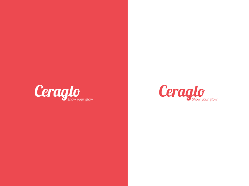 Ceraglo logo brand identity corel draw illustrator photoshop