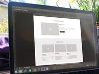 New project - website design