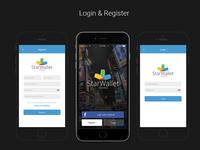 Starwallet - Login & Register