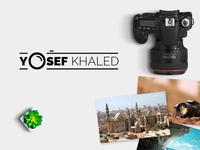 Photographer Logo Design - Yosef Khaled